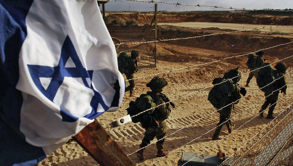 Израильский танк обстрелял инфраструктуру ХАМАС вответ на запуск ракеты