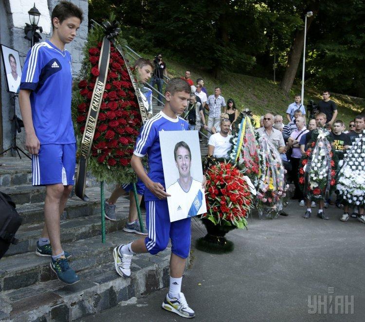 Церемония прощания с Валентином Белькевичем