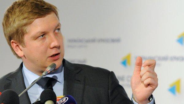 Глав Нафтогаза Андрей Коболев