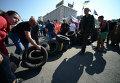Ситуация на Майдане Незалежности. Архивное фото