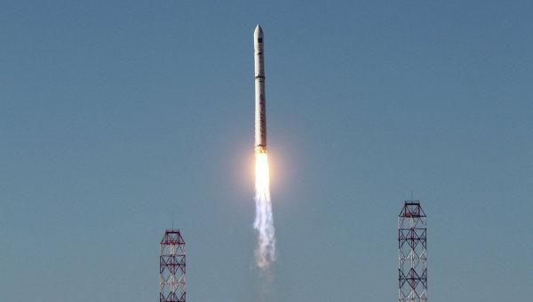Запуск ракеты-носителя Зенит
