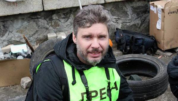 Специальный фотокор МИА Россия сегодня Андрей Стенин