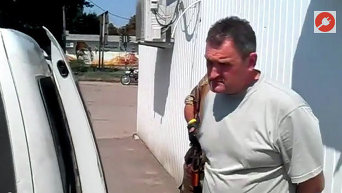 Задержание мэра Александровска бойцами батальона Айдар. Видео
