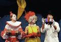 Актеры Театра пантомимы Лицедеи