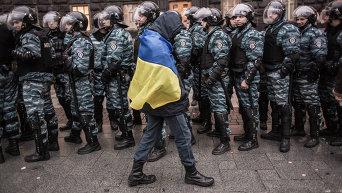 Митинг сторонников евроинтеграции Украины в Киеве