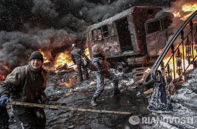 Ситуация в Киеве во время евромайдана, 22 января 2014 г