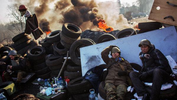 Во время евромайдана в Киеве