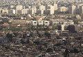Вид на город Дамаск. Сирия
