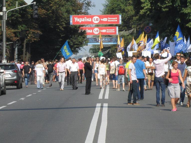 Движение перекрыто на улице Грушевского