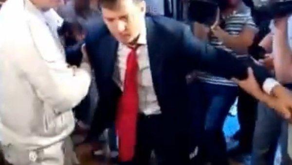 Шевченко ударил по лицу Ляшко