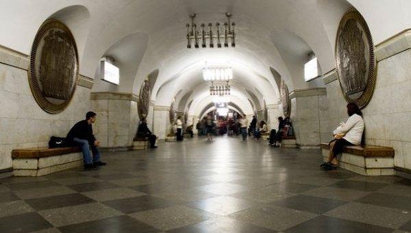 Станция Киевского метрополитена Вокзальная. Архивное фото