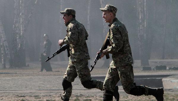 Бойцы Нацгвардии Украины. Архивное фото