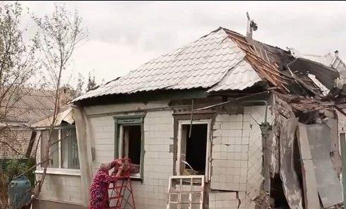 Харцызск после обстрела 18 августа. Видео