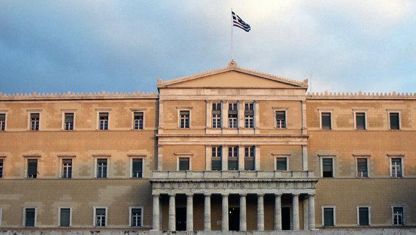Здание греческого парламента