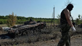 Ополченец Луганской народной республики