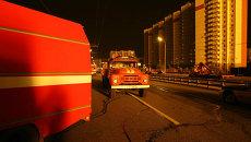 Пожарные машины в Москве. Архивное фото