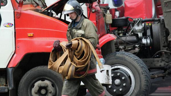 Пожар навоенном складе вДонбассе локализован