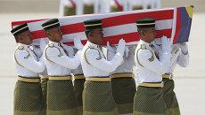 В Малайзию доставили тела погибших при крушении Boeing 777 в Украине
