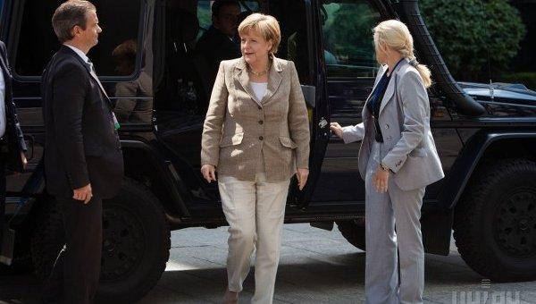 Визит Ангелы Меркель в Киев