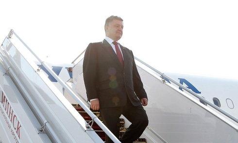 Визит Порошенко в Минск