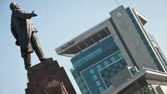 Памятник Ленину в Харьков. Архивное фото