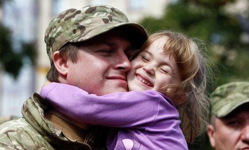 Батальон Сич отправился из Киева в зону АТО