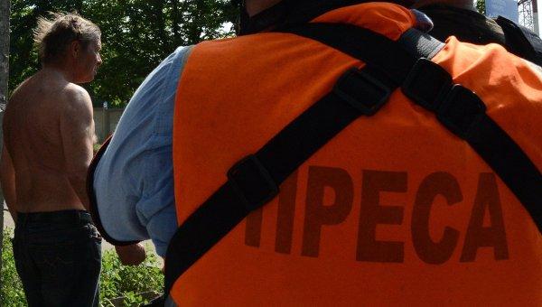 Журналисты на востоке Украины. Архивное фото