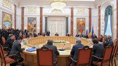 Переговоры в Минске. Архивное фото