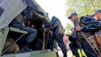 Военнослужащие Нацгвардии. Архивное фото