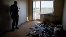 Ситуация в Авдеевке под Донецком. Архивное фото