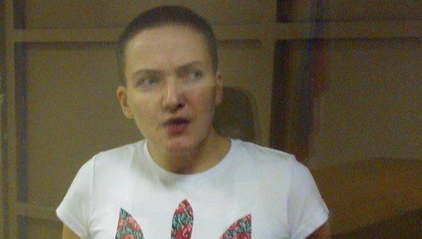 Украинская наводчица Надежда Савченко