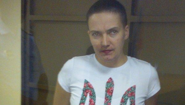 Украинская наводчица Надежда Савченко. Архивное фото