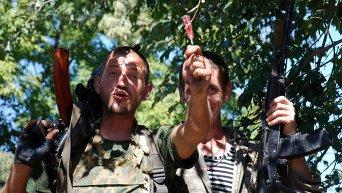 Боец ополчения ДНР в Иловайске