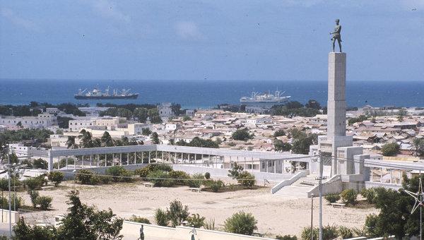 Вид Могадишо - столицы Сомалийской Демократической Республики