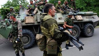 Ситуация в Иловайске Донецкой области