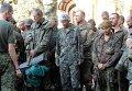 Пленные украинские вышли из окружения под Иловайском