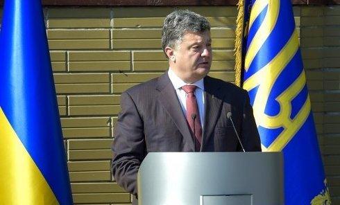 Порошенко посетил Киевский военный лицей имени И.Богуна