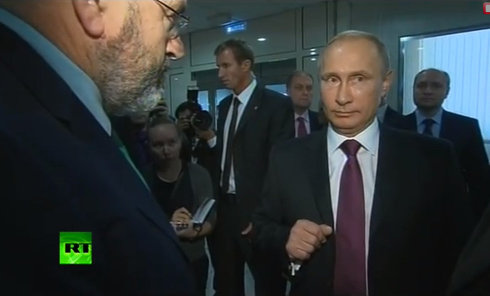 Путин объяснил корреспонденту BBC ситуацию на востоке Украине. Видео