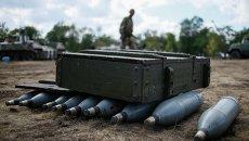 Лагерь украинских военных. Архивное фото