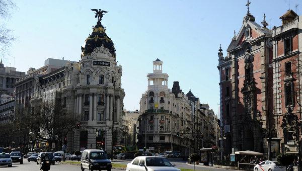 Улицы Мадрида. Архивное фото