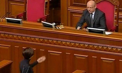 Турчинов лишил слова Бондаренко
