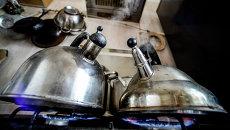 В Киеве отключили горячую воду