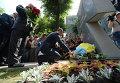 Первый памятник Небесной сотне открыли в Киеве