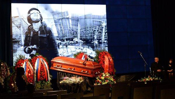 Прощание с Андреем Стениным в МИА Россия сегодня