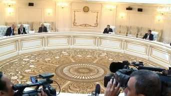 Заседание контактной группы по Украине в Минске. Видео