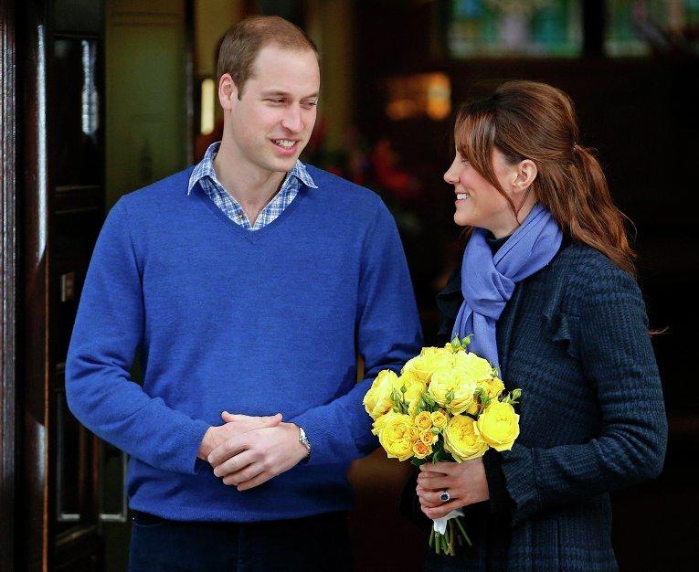 Принц Уильям и герцогиня Кембриджская Кэтрин