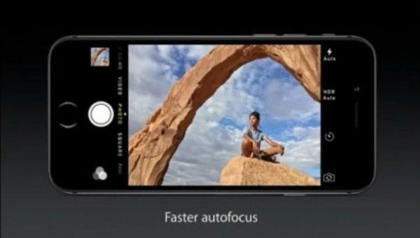 Apple iPhone 6. Скриншот видео