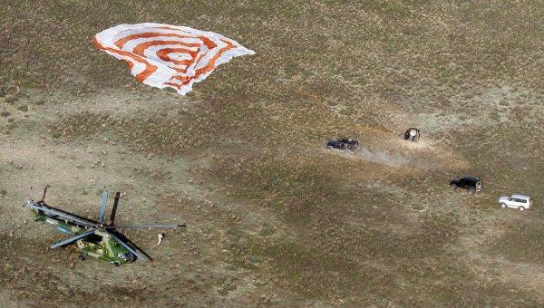Экипаж длительной экспедиции на МКС вернулся на Землю. Архивное фото