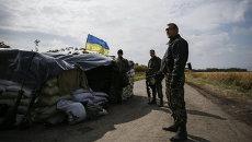 Солдаты Нацгвардии в восточной Украине. Архивное фото