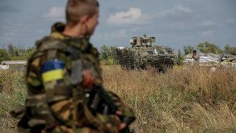Солдаты Нацгвардии на востоке Украины. Архивное фото